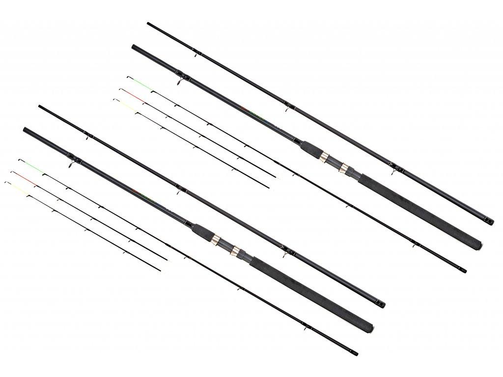 Prut Genesis Feeder 3,3 m 60-120 g 3+3 díly AKCE 1+1