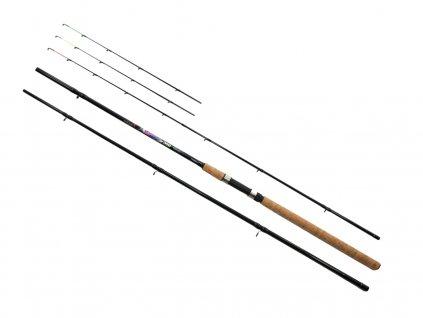 Prut Excalibur Feeder 3,9 m 120 g 3+3 díly
