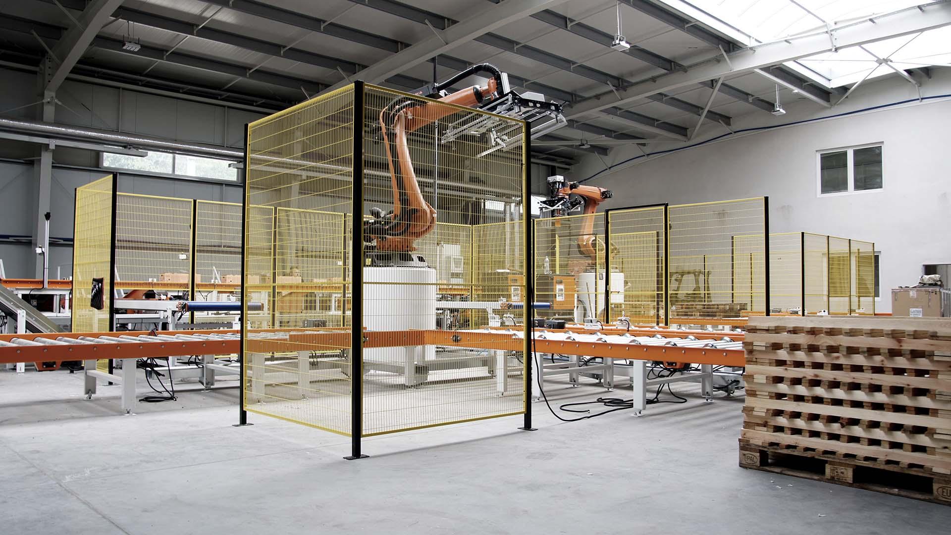 Automatická výrobní linka