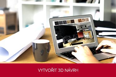 Vytvořit 3D návrh