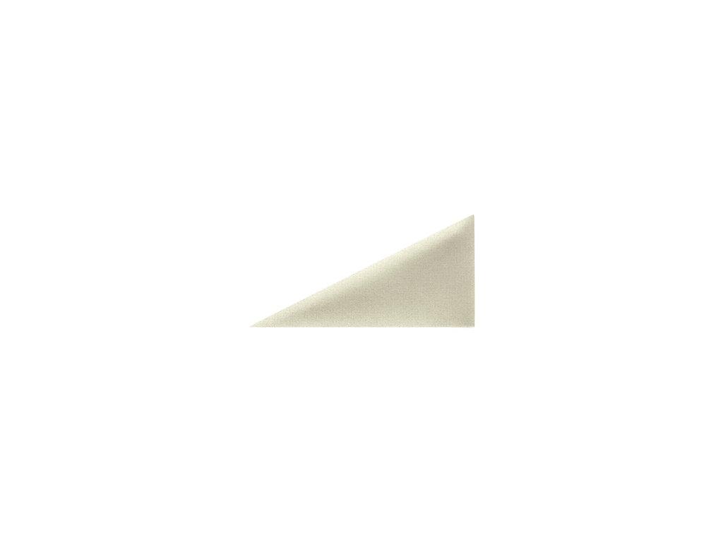 Čalouněný panel ABIES R21 trojúhelník pravý 30 x 15 cm