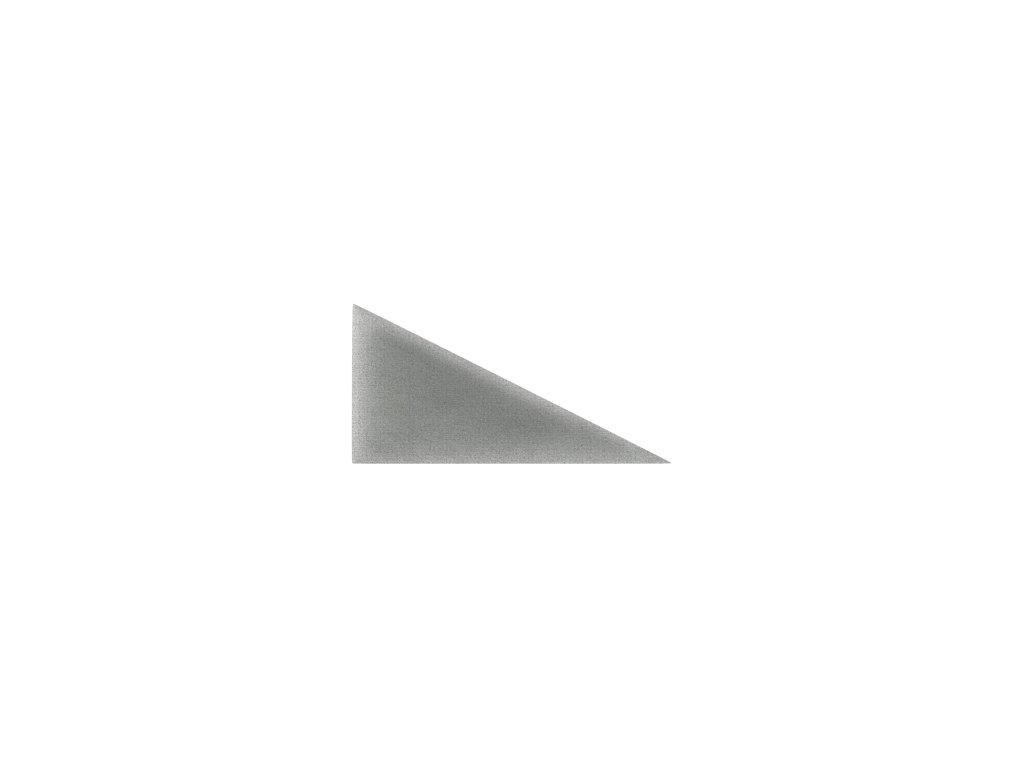 Čalouněný panel ABIES R91 trojúhelník levý 30 x 15 cm