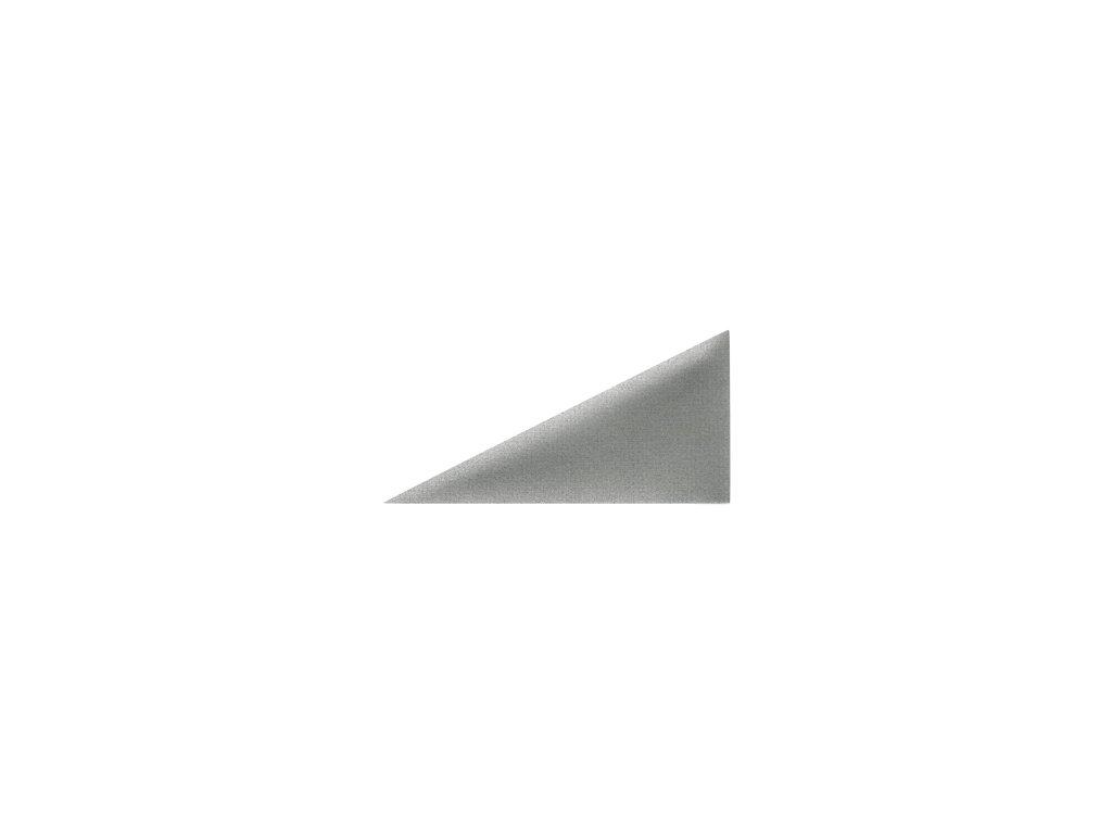 Čalouněný panel ABIES R91 trojúhelník pravý 30 x 15 cm