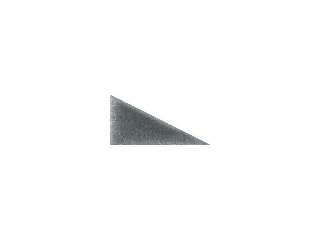 Čalouněný panel ABIES R95 trojúhelník levý 30 x 15 cm