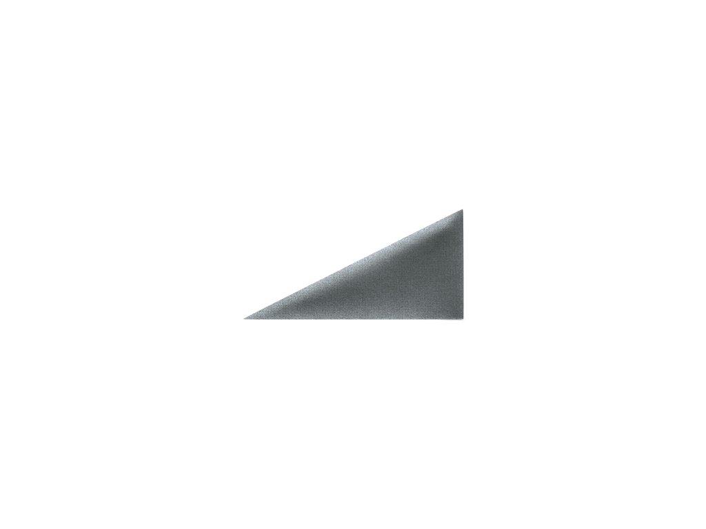Čalouněný panel ABIES R95 trojúhelník pravý 30 x 15 cm
