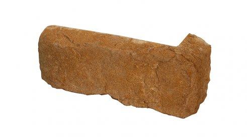 Betonový roh CALABRIA 1 - mocca