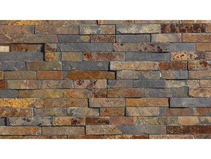 381 kamenny obklad rusty