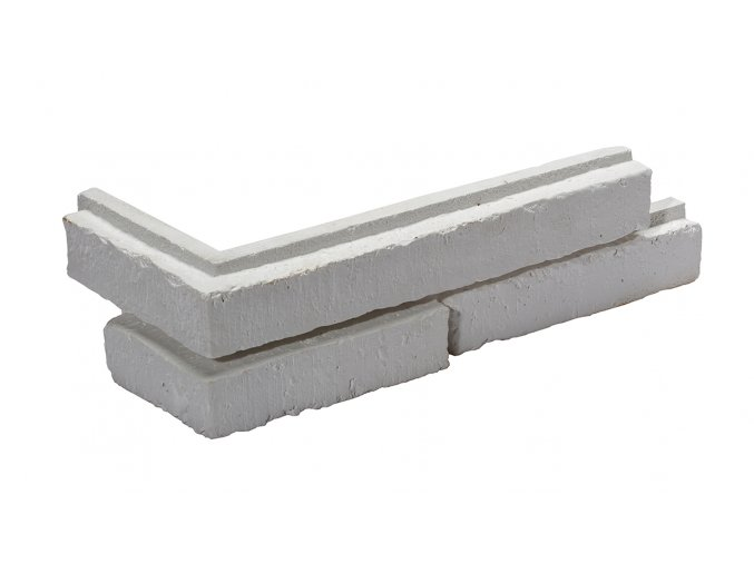 Sádrové rohové obklady METRO 1 - white