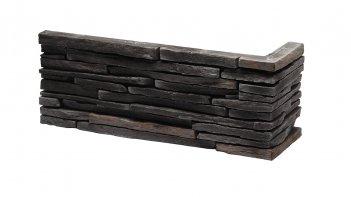 Sádrové rohové obklady VENEZIA 4 - graphite