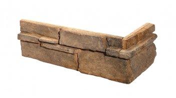 Betonové rohové obklady GRENADA 3 - mocca