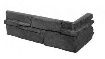 Betonové rohové obklady GRENADA 5 - graphite