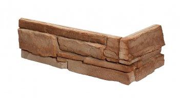 Betonové rohové obklady GRENADA 6 - rose