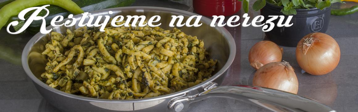 STEIN - kvalitní třívrstvé nádobí na indukci