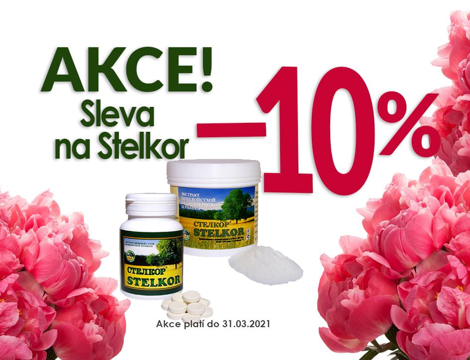Využijte slevu 10% na Stelkor do konce března