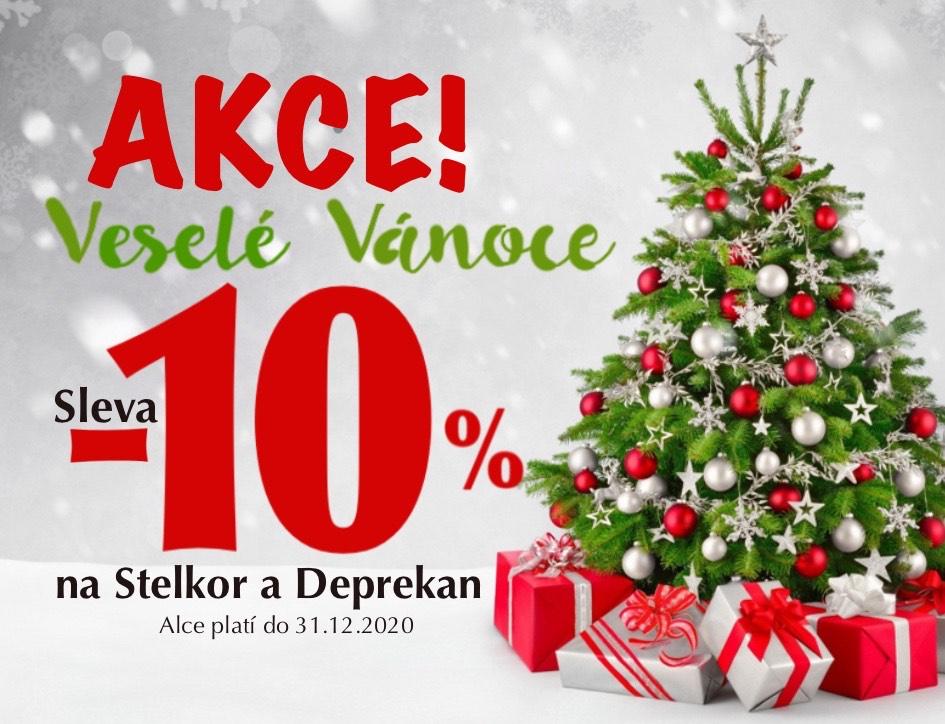 Veselé a zdravé Vánoce se slevou 10%