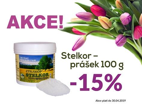 Jarní akce na Stelkor v prášku 100g - 15% sleva