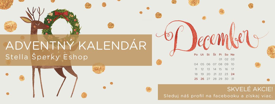 Stella Šperky Eshop - Adventný kalendár na facebooku