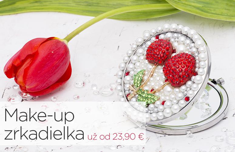 Stella Šperky Eshop - Make-up zrkadielka do kabelky pre ženu už od 23,90 €