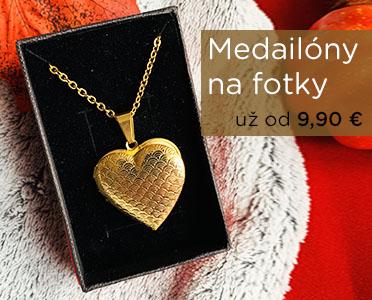 Stella Šperky Eshop - 3D Medailóny na fotku už od 9,90 €