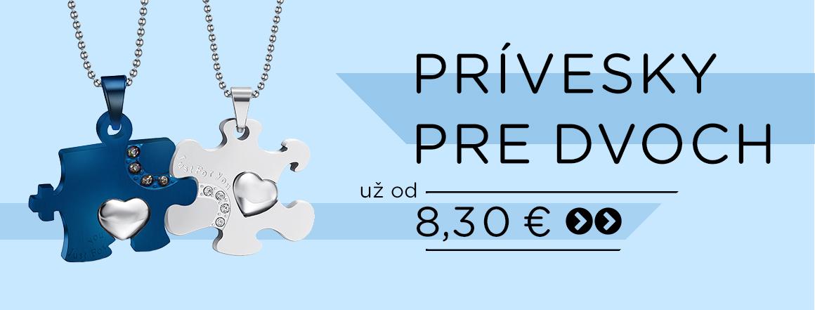 Stella Šperky Eshop - Prívesky pre dvoch už od 8,30 €