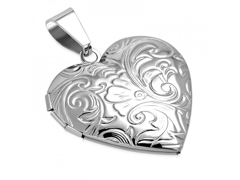 Medailón 3D srdce na fotky 1bf79ea1b45