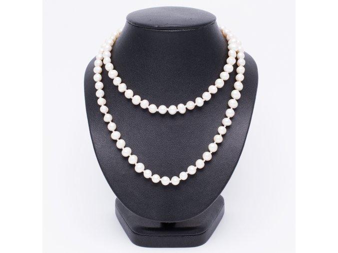 Náhrdelník z riečnych perál, bižutéria