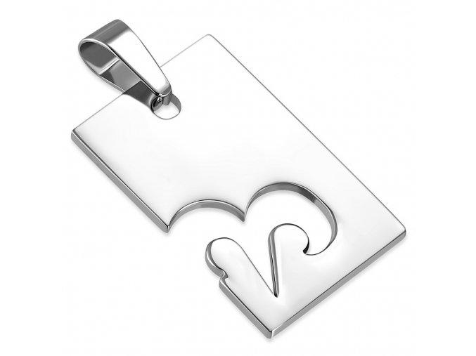Prívesok známka z ocele striebornej farby, znamenie zverokruhu BARAN (1)