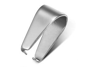 Háčík na prívesok z chirurgickej ocele - 6 mm