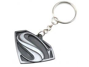 Prívesok na kľúče, patinovaný symbol Superman (1)