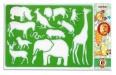Šablony na malování zvířat, květin, postav
