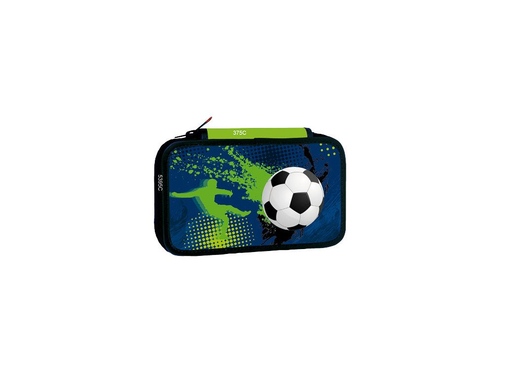 Školní třípatrový penál Stil - Fotball 3