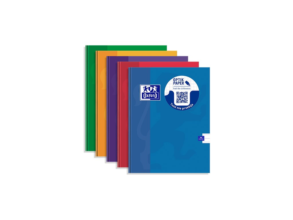 Záznamní kniha Oxford A5 - 96 listů, linkovaná