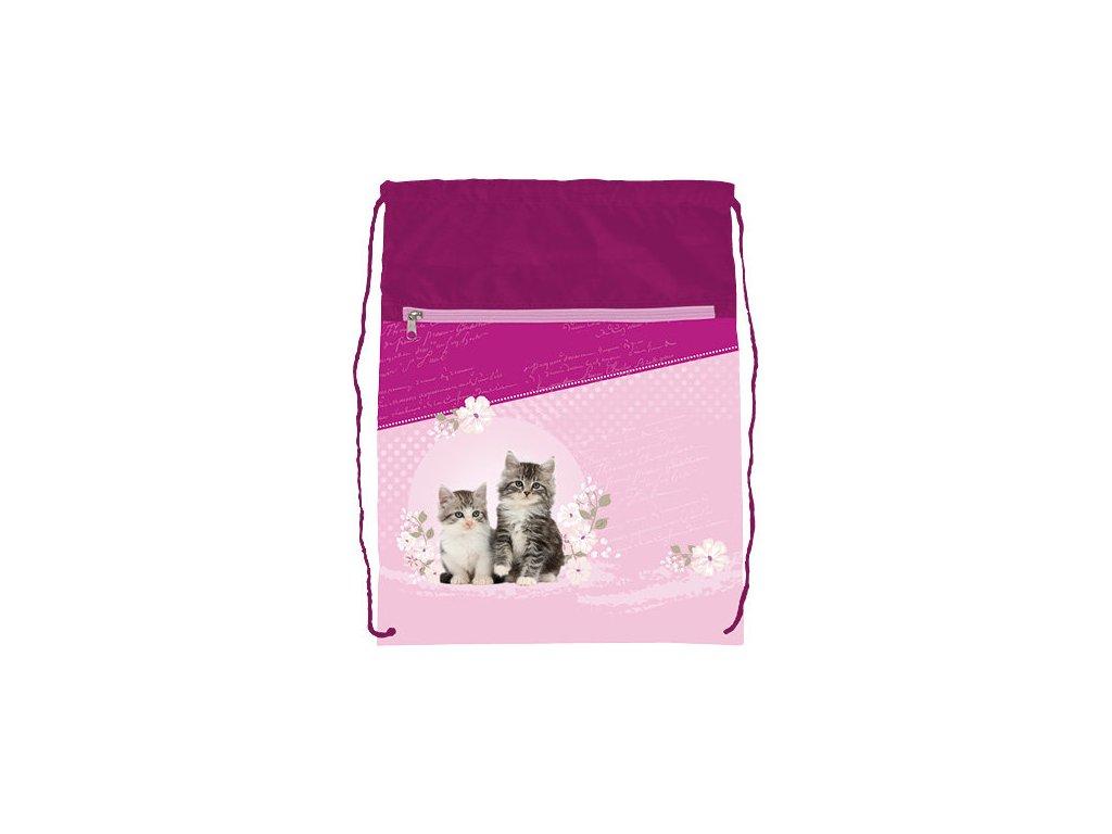 Sáček na cvičky Stil - Kitten