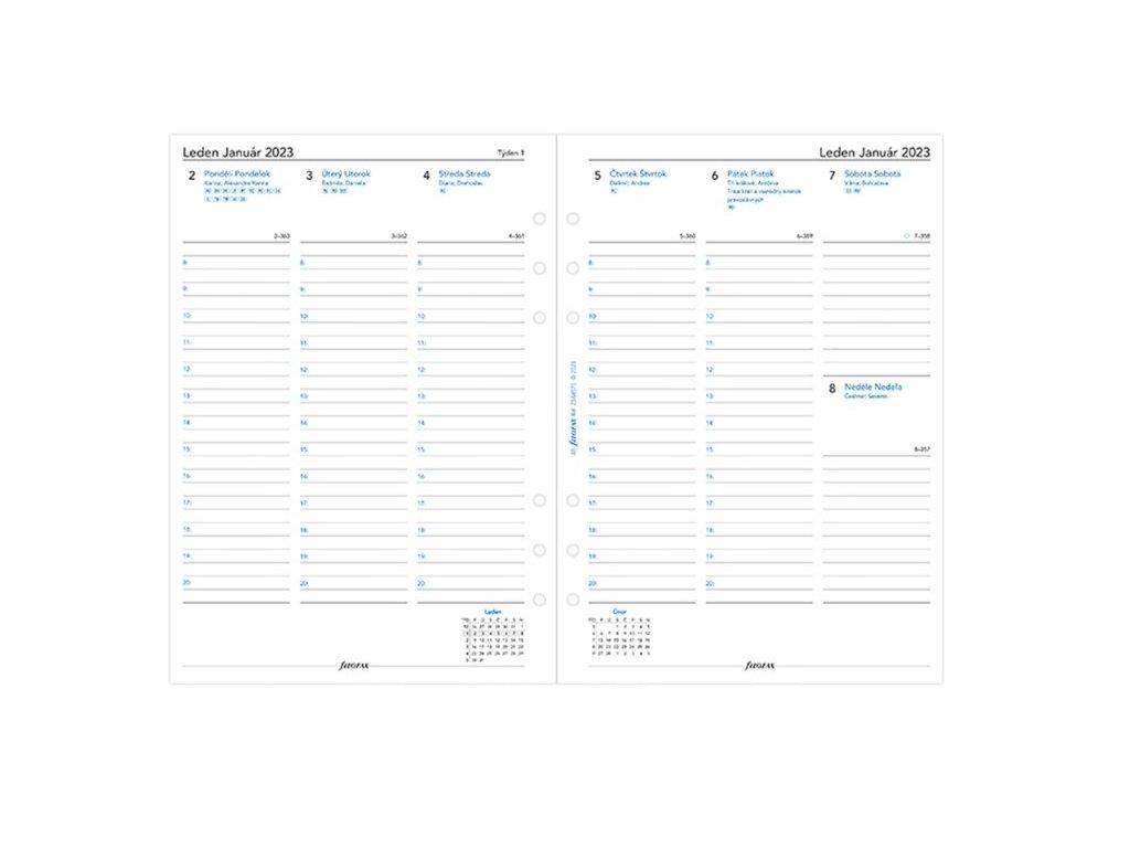 Screenshot 2021 08 20 at 14 43 31 Týdenní kalendář 2022 náplň do A5 diářů Filofax Paperlove