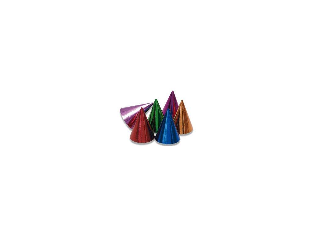 Party kloboučky, mix barev 10 ks