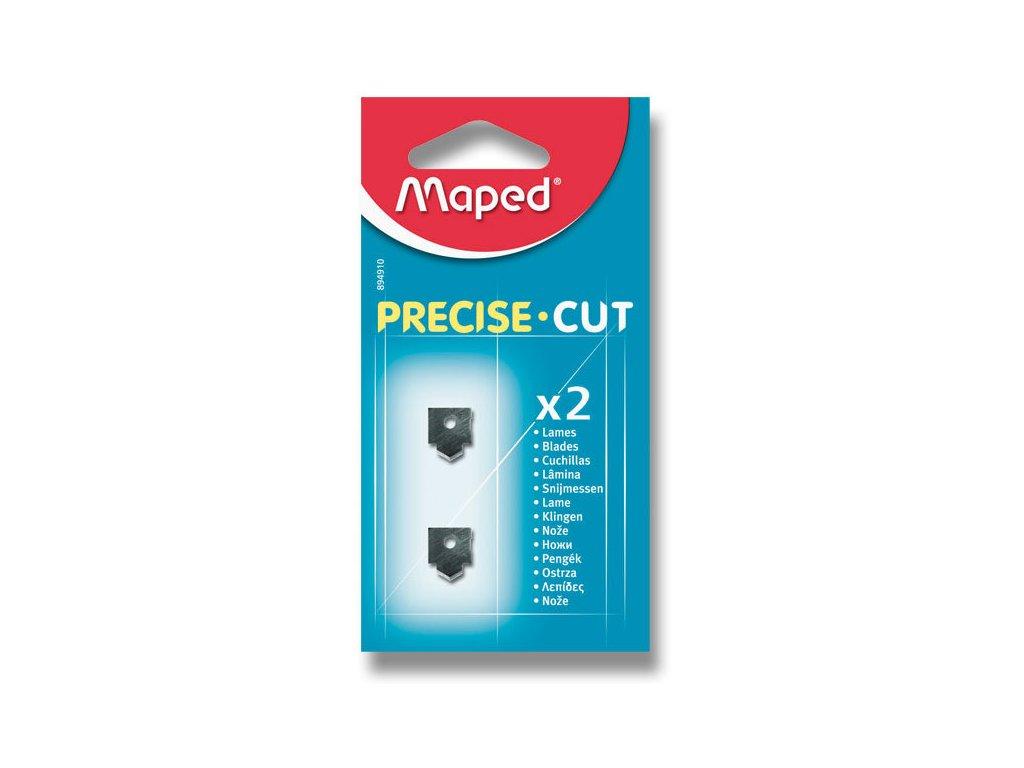 Náhradní břity pro řezačku Maped Precise Cut, 2 ks na blistru