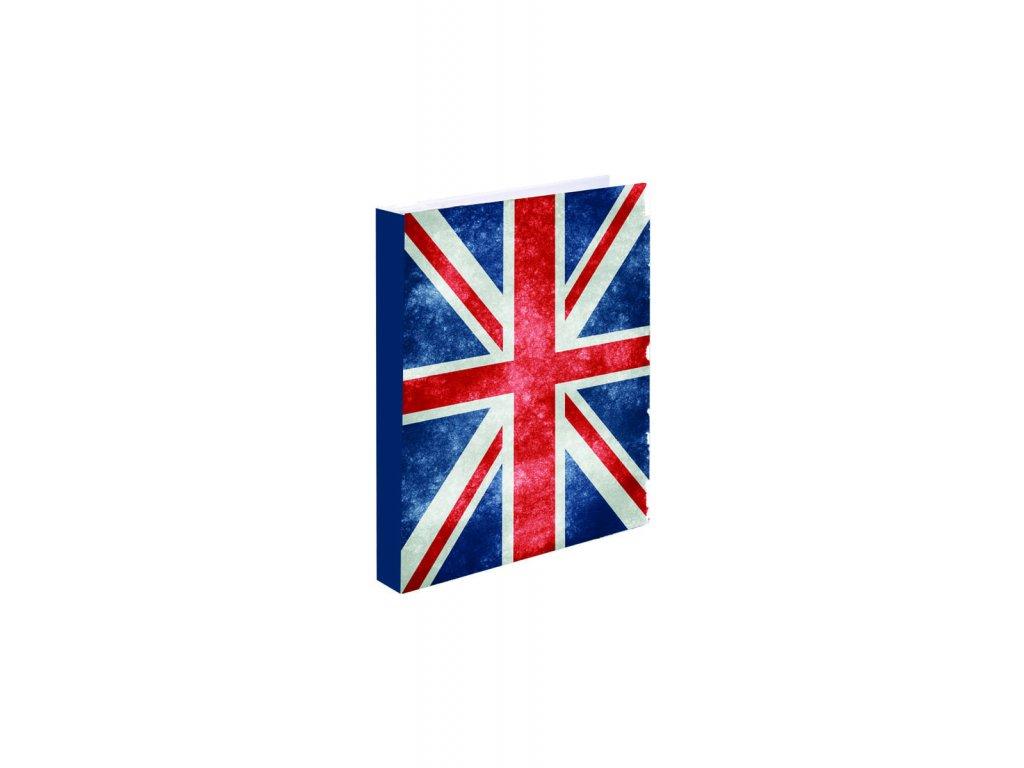 Karis blok A5 Karton P+P Vlajka UK
