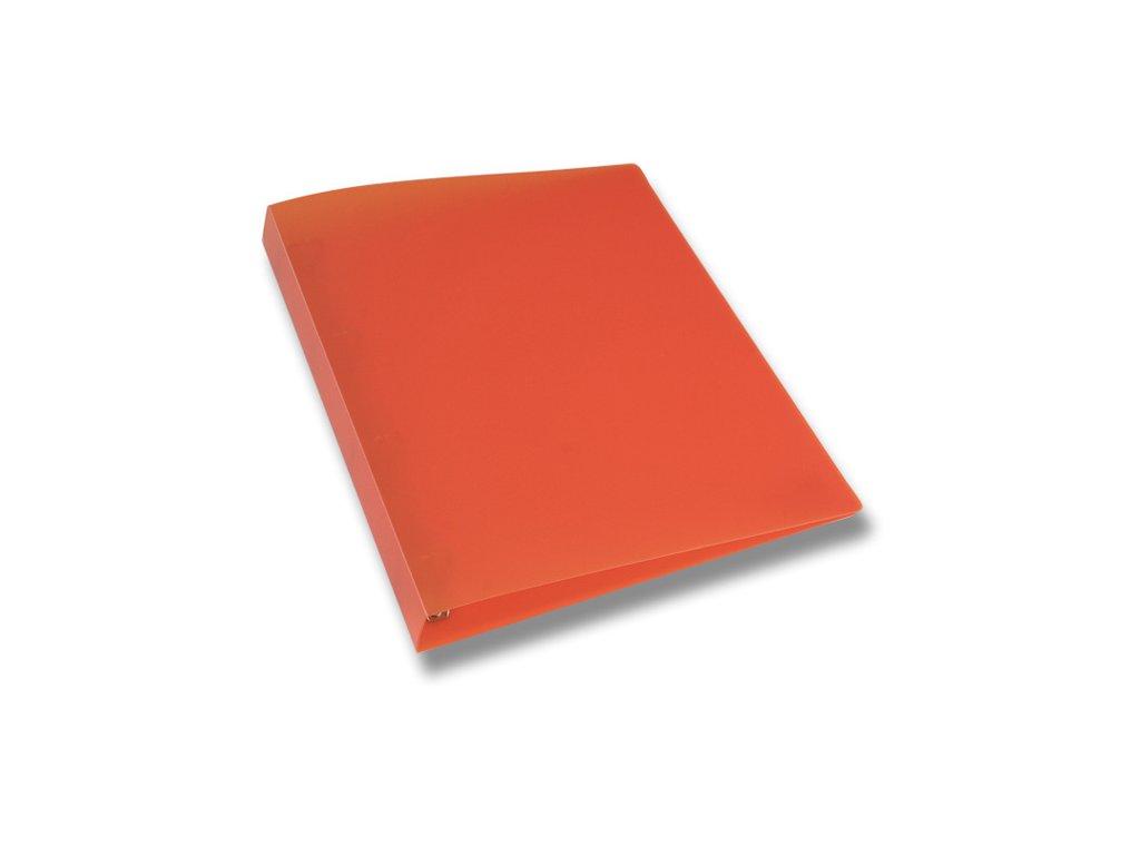 4kroužkový pořadač Opaline, A4, hřbet 35 mm, oranžová