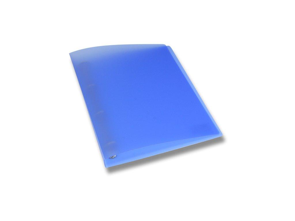 4kroužkový pořadač Opaline, A4, hřbet 35 mm, modrá