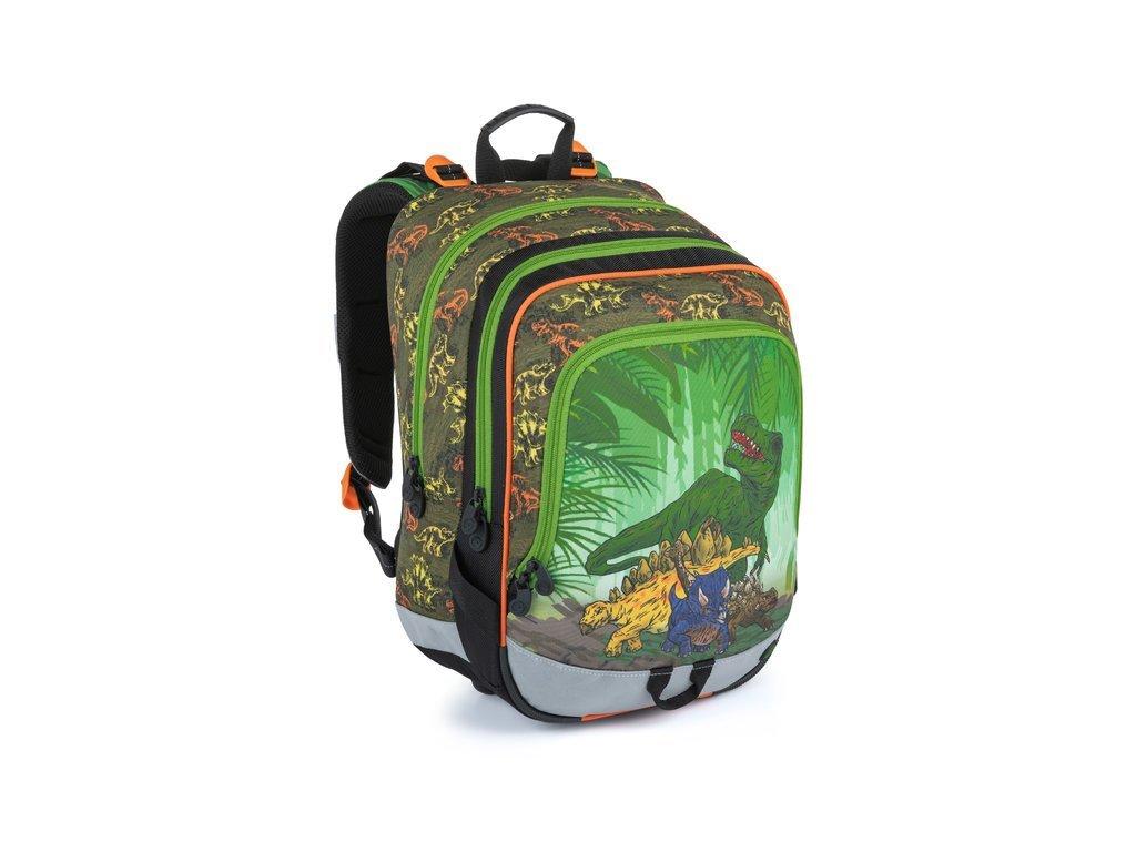 Školní batoh pro kluky Bagmaster Alfa 21 C  + Dárek zdrama voskovky 8,2mm  K-I-H -12 barev