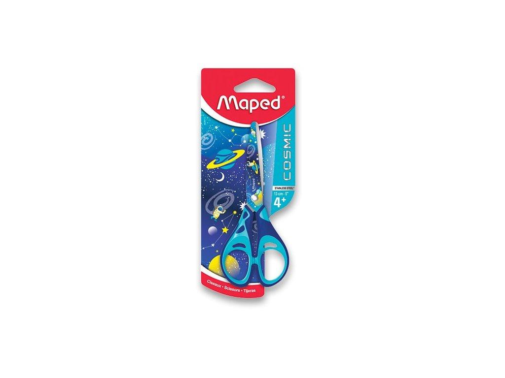 Nůžky Maped Cosmic Kids - 13 cm, blistr, mix barev pro praváky