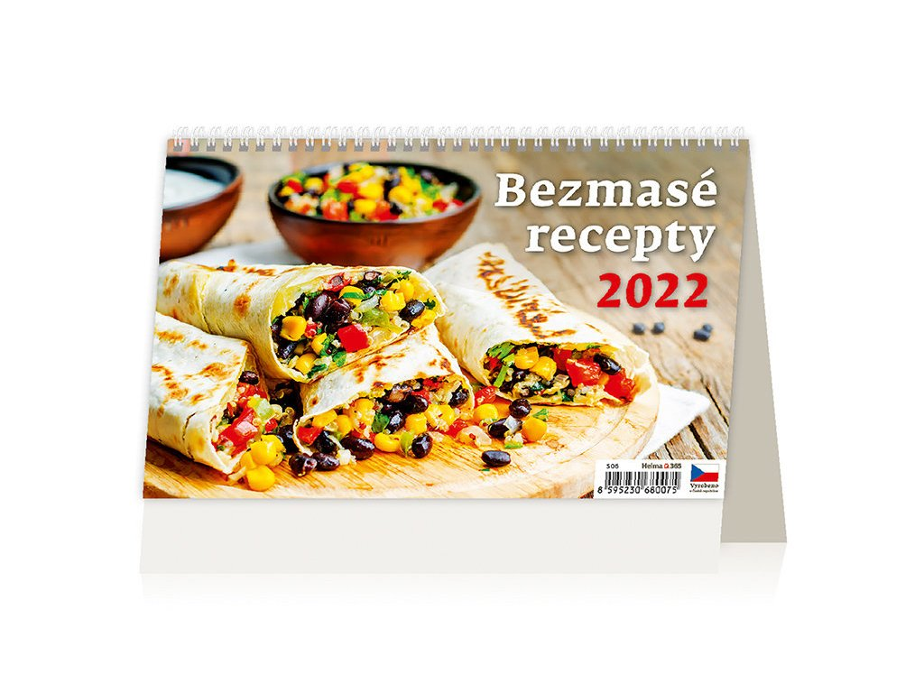 Kalendář Bezmasé recepty 2022
