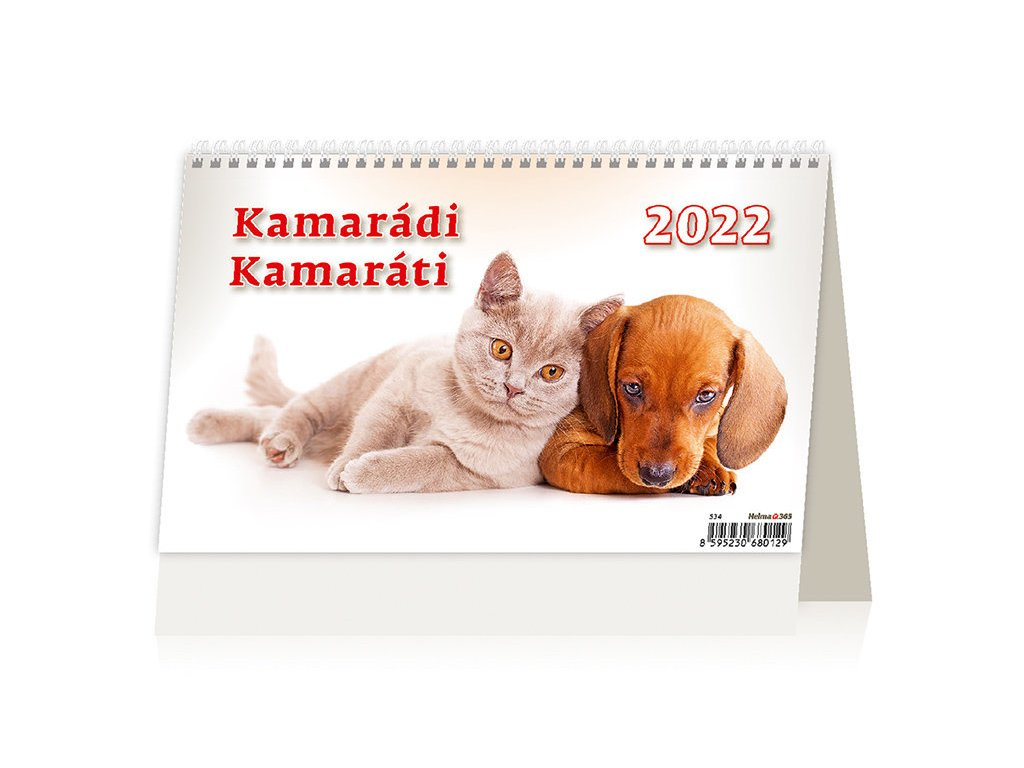 Kalendář Kamarádi 2022