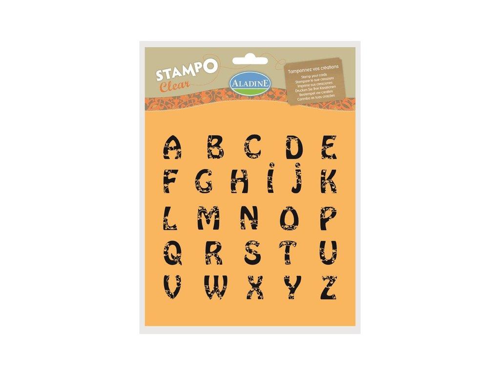 StampoClear, abeceda velká, secese