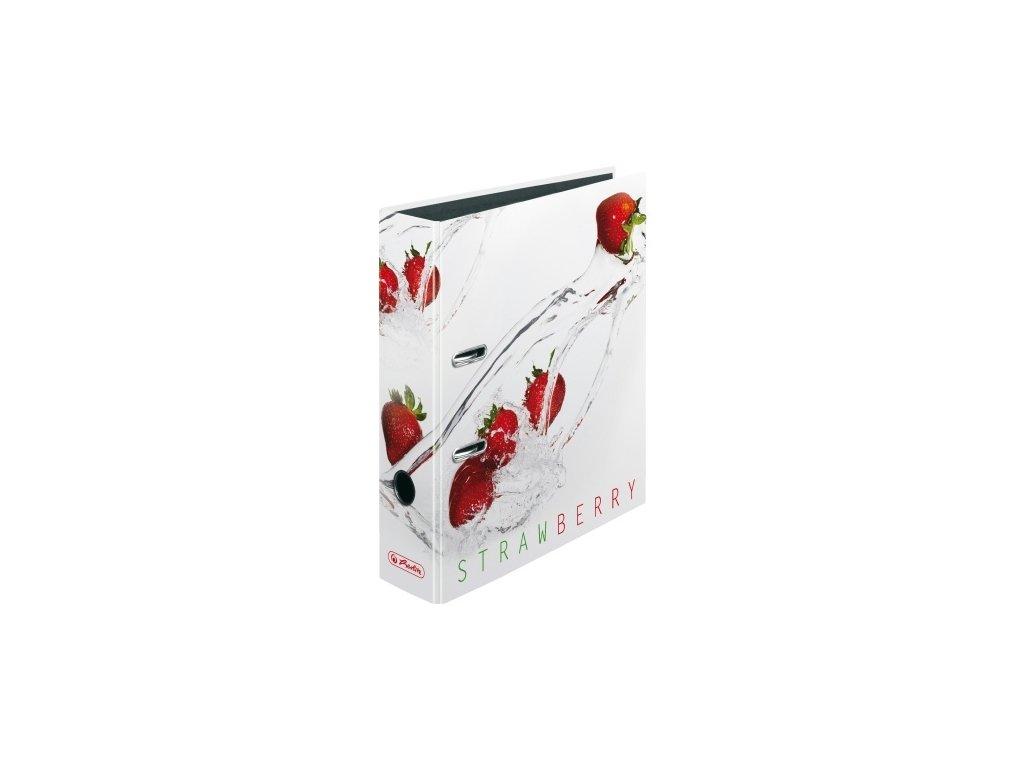 Herlitz Pořadač A4 -Fresh Fruit Jahody