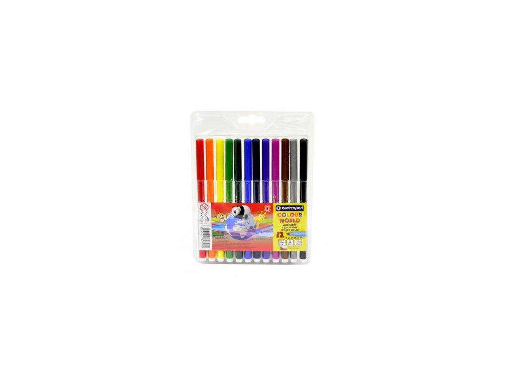 Dětské fixy Centropen Colour World 7550 sada 12 ks
