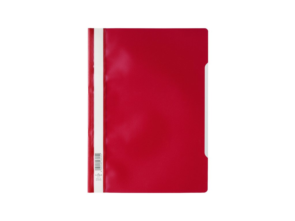 Rychlovazač PP A4-červený