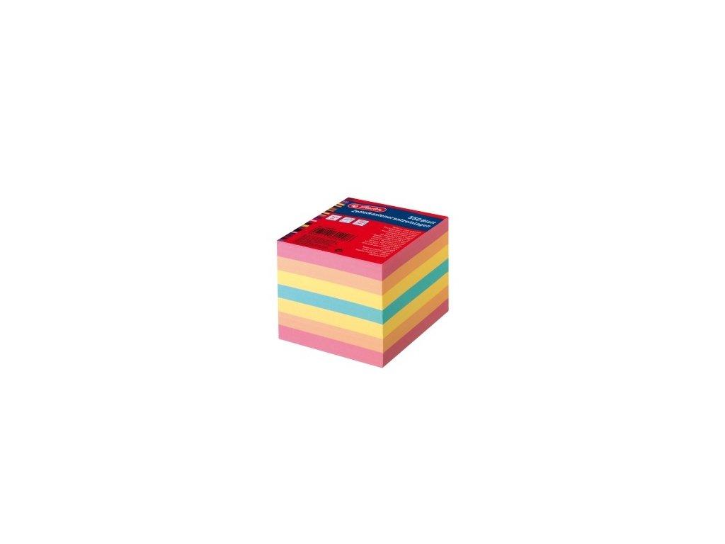 Poznámkový špalík - barevný - nelepený