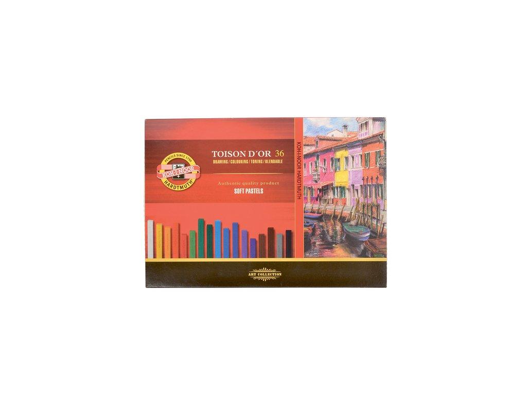 Sada uměleckých suchých pastelů TOISON D'OR 8585/36