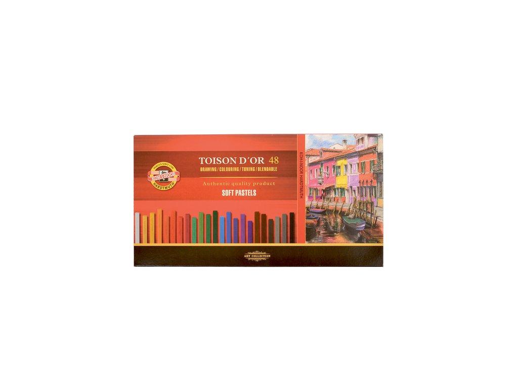 Sada uměleckých suchých pastelů TOISON D'OR 8586/48